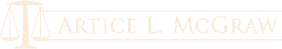Logo, Artice L. McGraw - Legal Services