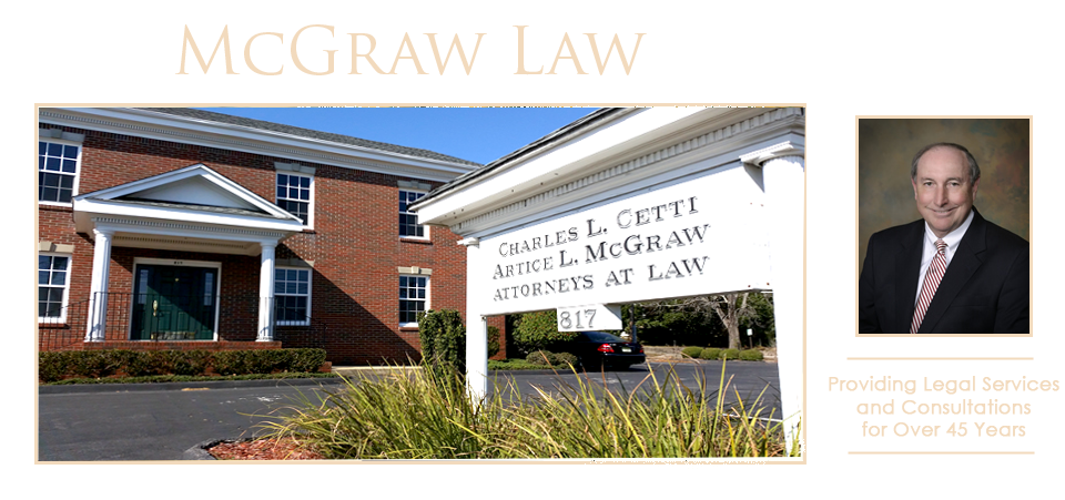Pensacola Personal Injury Attorney | Wrongful Death Lawyer Pensacola FL | Artice L McGraw Home Page Banner Image